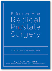 [book cover] Before and After Radical Prostate Surgery