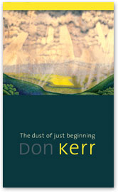 [book cover] The dust of just beginning