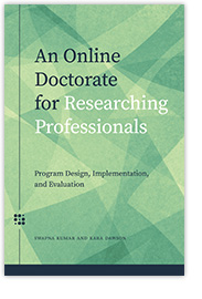 [book cover] An Online Doctorate for Researching Professionals